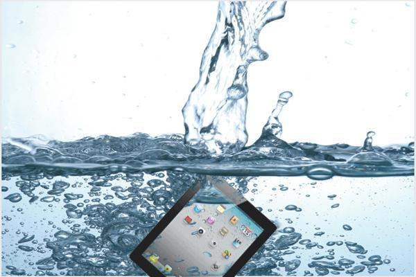 Попадание влаги в iPad