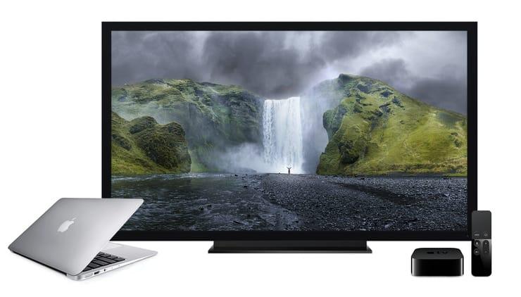 Як передати відео з Mac на екран телевізора